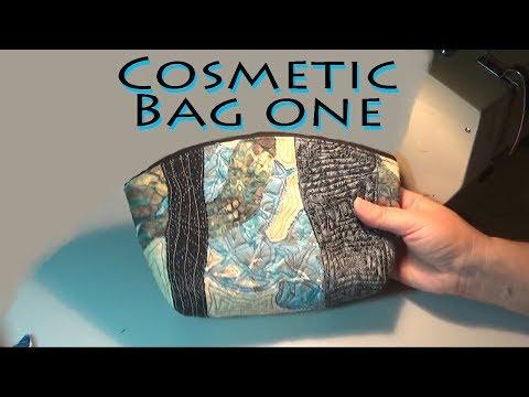 Cosmetic Bag  #1 | Moderate Gift  Project | Zazu's Stitch Art Tutorials