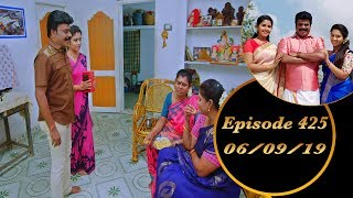 Kalyana Veedu | Tamil Serial | Episode 425 | 06/09/19 | Sun Tv | Thiru Tv