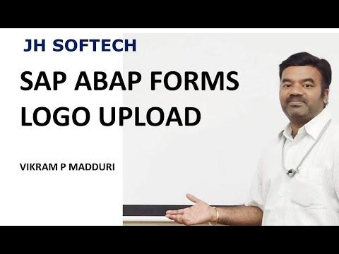 SAP ABAP FORMS LOGO UPLOAD