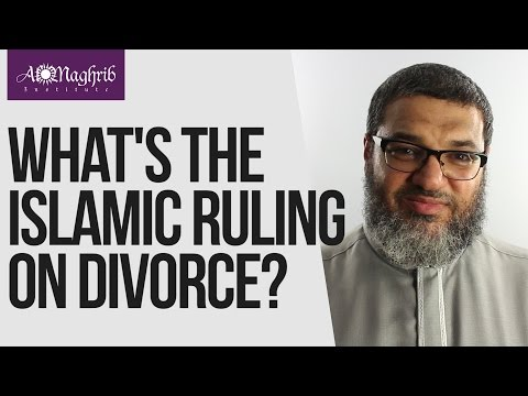 What's the Islamic Ruling on Divorce? | Waleed Basyouni | AlMaghrib Institute  1