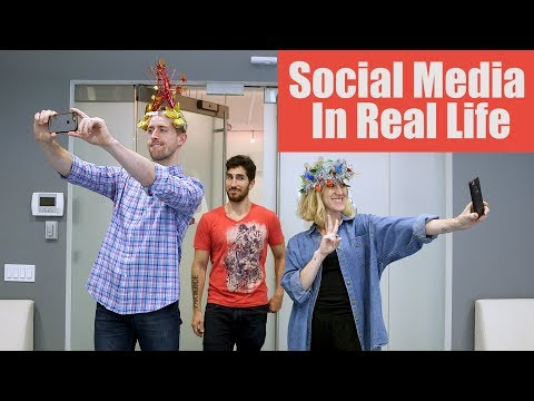 Social Media IRL: If Instagram and Snapchat Came to Life