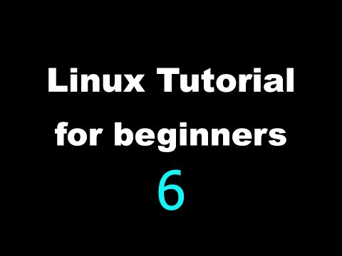 Linux Tutorial for Beginners - 6 - Creating our first file