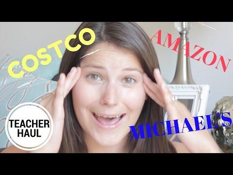 Back to School Haul: Costco, Amazon, and Michael's
