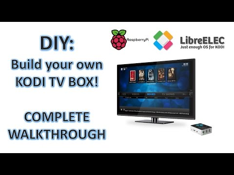 Build and set up your own Kodi Streaming TV Box! Complete Walkthrough!