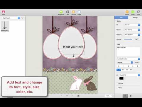 How to Make an Awesome Easter Card on Mac