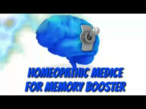 In HINDI Boost your memory with Homeopathy, medicine to increase brain power