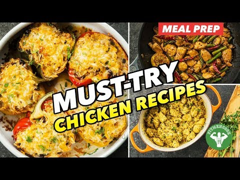 3 Must Try Healthy Chicken Recipes