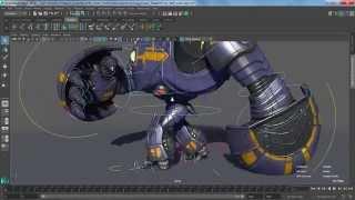 Maya 2017 Update 3: Bake Deformer Tool - PakVim net HD