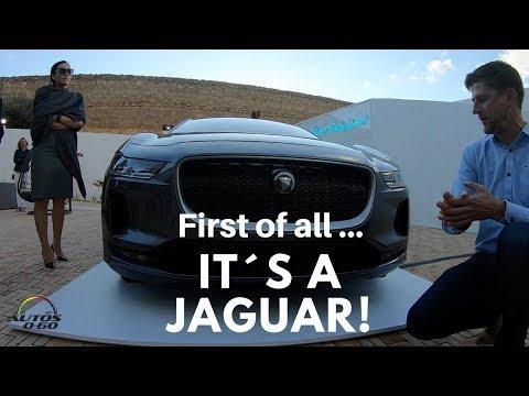 2019 Jaguar I-Pace design walkaround by Simon Tovey
