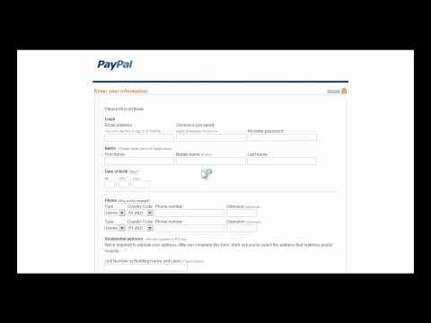 How to Set Up a PayPal Account For Beginners
