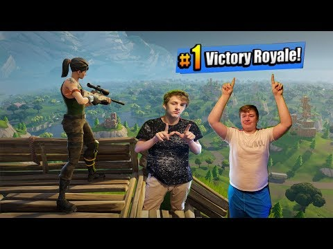 FORTNITE WITH THE BOYS