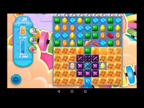 Candy Crush Soda Saga Level 763 - No boosters