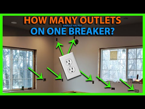How Many Outlets On One Breaker & Room By Room Circuit Layout