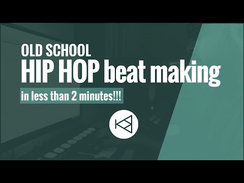 How to make a smooth OLD SCHOOL Hip Hop beat (Ableton 9 + Maschine) | KimboBeatz