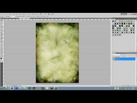 Photoshop Tutorials - Ep. 3 - How to use Textures