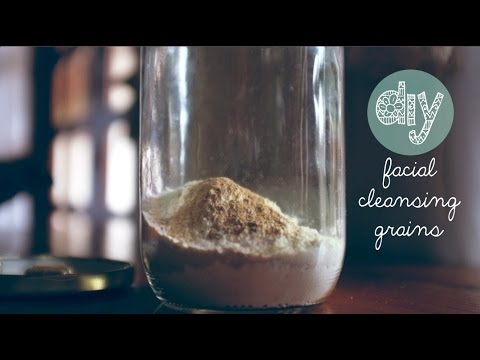 DIY Facial Cleansing Grains for Smooth & Glowing Skin (My secret to healthy flawless skin!)
