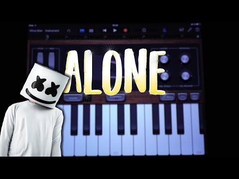 Marshmello - Alone (GARAGEBAND TUTORIAL)
