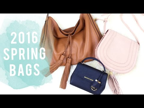 2016 Spring Handbag Guide | Spring Handbag Review | 2016 Handbag Trends | Miss Louie