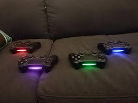 How to change the color of you ps4 controller