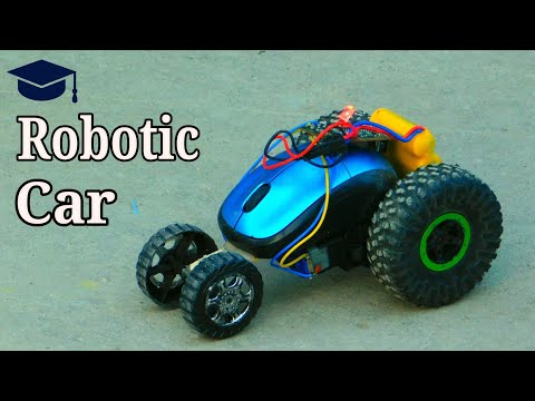 How to make a remote control car at home - Robotic car