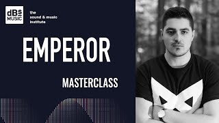 Emperor Masterclass at dBs Music 2018