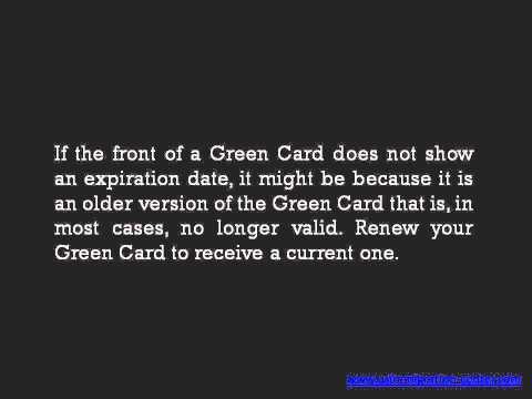 Be aware of Green Card Renewal Process