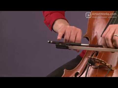How To Hold A Cello Bow with Mike Block