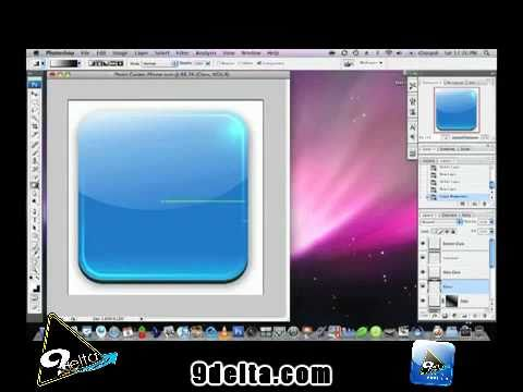 How to make iPhone icons in Photoshop