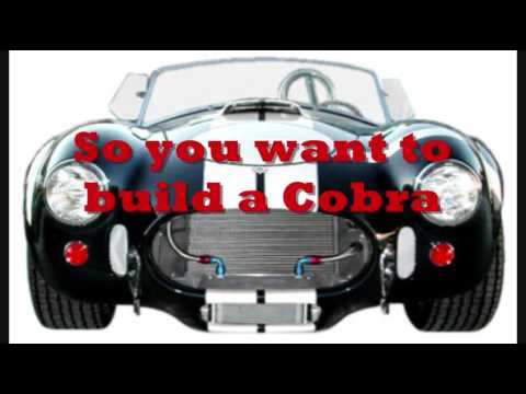 Street Beasts or StreetBeasts 427 Cobra Part 1 Buying the Kit