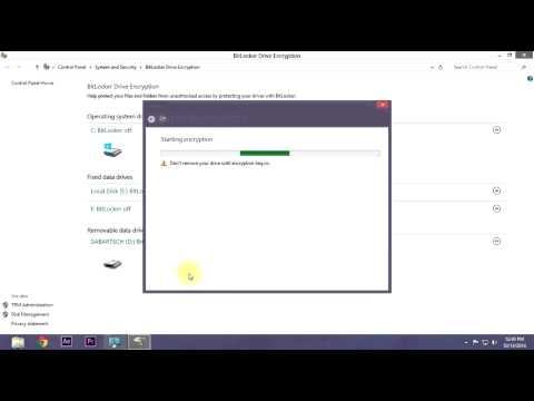 How to password protect flash drive without any software