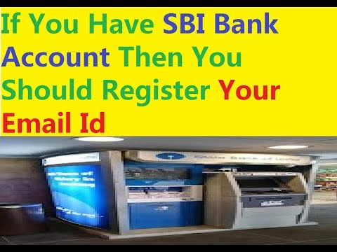 State Bank Of India || How To Register For  Email