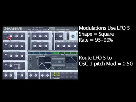 How To Produce A Party Rocker Synth Line In Massive