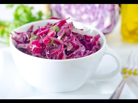 Red cabbage coleslaw recipe with mayo