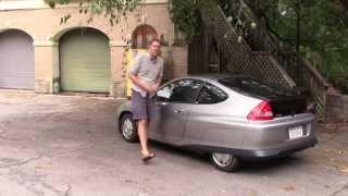 Hypermiling in a Honda Insight