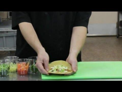 How to Make a Hard Shell, White Corn Taco : Taco Night