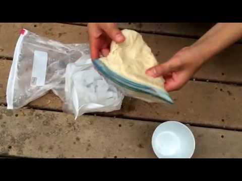 HOMEMADE ICE CREAM IN A BAG | ONLY 4 INGREDIENTS