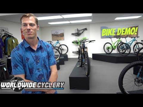 Mountain Bike Demo | Worldwide Cyclery Shop Tour | Yeti SB6 | EVIL Calling | Yeti SB5 | Yeti SB5.5
