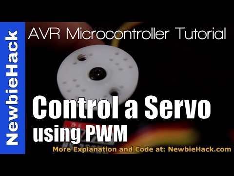 38. Arduino for Production!  AVR - Controlling a Hobby Servo Using the Internal PWM