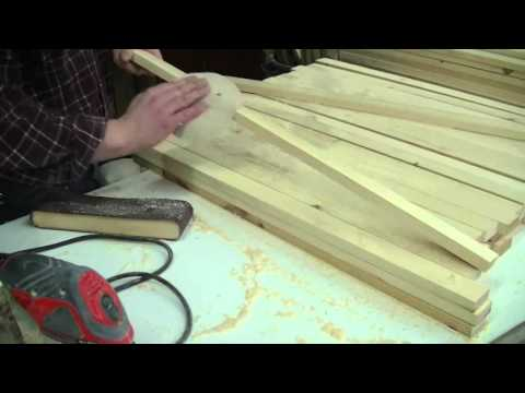 How To Stain Many Pine Pieces ( Muskoka Chair Components )