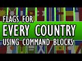 EVERY COUNTRY'S FLAG | Setblock Banners in Minecraft
