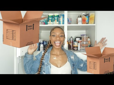 I MOVED! TAKE A LOOK! ORGANIZING MY NEW STORAGE SPACE! |SHAREESLOVE