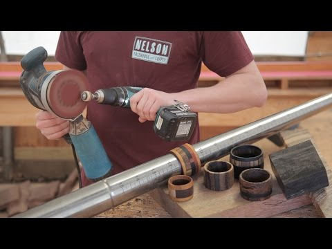 DIY holiday gift idea: Wood Ring quick & easy with limited tools!