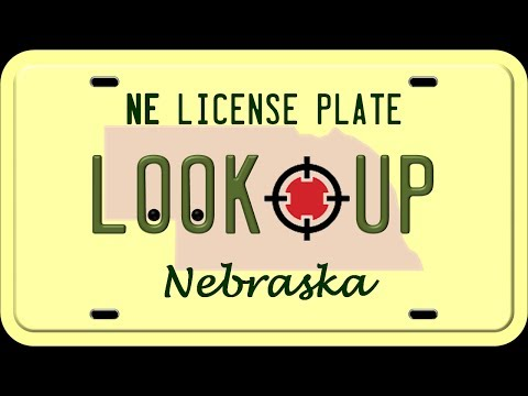 How to Reverse Search a Nebraska License Plate Number