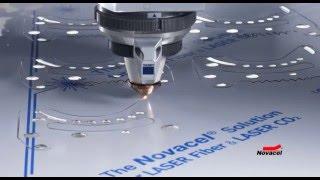 ファイバーレーザーカット加工に最適な表面保護フィルム ノバセル#4228ref
