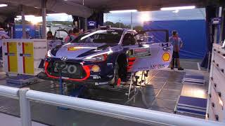 WRC Rally Australia 2017 Shakedown and Service Park Vlog - Day 1 of 4