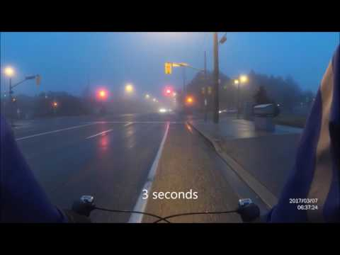 Driver Sits at a Green Light for 14 seconds