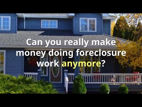 Property Preservation How to Make Money in Property Preservation & Mortgage Field Services Industry