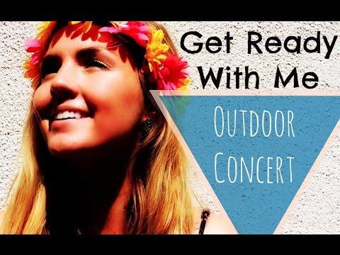 GRWM Outdoor Concert Hair & Makeup | Madison Michelle