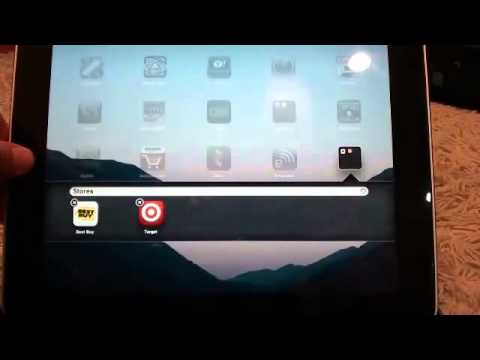 iPad Training - How to Create Folders and Organize Apps on the iPad