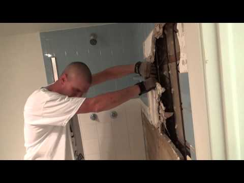 Mold Test, Bathroom Mold Demolition and Kitchen and Bath Remodel in Cape Coral, FL